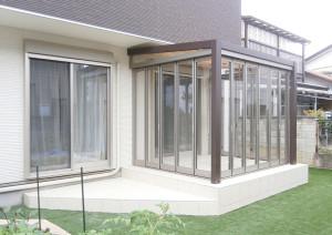 藤照 施工事例 ガーデンルーム
